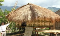Stilt house of the Raglai