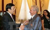 State President receives former Soviet military expert