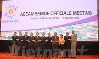 ASEAN Senior Official Meeting convened