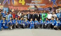 Vietnam wins the 4th World Vovinam Championship in Algeria