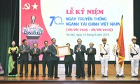 The financial sector conferred with Ho Chi Minh Order