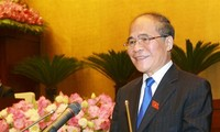 NA Chairman Nguyen Sinh Hung attends World Conference of Speakers of Parliament and visits the US