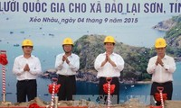 PM launched the construction of a national power grid project in Kien Giang