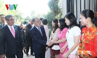 NA Chairman Nguyen Sinh Hung arrived in Washington D.C. during his official visit to the US