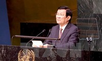 President Truong Tan Sang attends gender equality, CGI meetings
