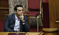 Greece Approves First Austerity Bill