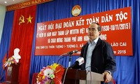 VFF President attends Great Unity Day in Lao Cai