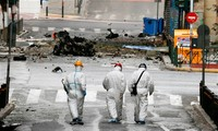 Bomb blast in Athens' downtown