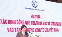Science and technology to contribute to Vietnam's economic growth