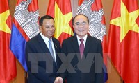 President of the Cambodia Senate concludes his official visit to Vietnam