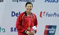 Vietnam's top swimmer Anh Vien praised by US magazine