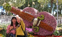 The 6th Da Lat flower festival closes
