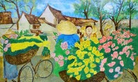 Painting exhibition highlights Vietnamese, Moroccan beauty
