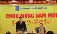 President Truong Tan Sang paid Tet visit to Petro Vietnam