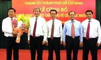 Minister of Transport Dinh La Thang appointed Secretary of Ho Chi Minh City's Party Committee
