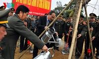 Tree-planting activities launched across Vietnam