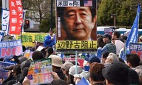 Thousands in Japan rally against US base in Okinawa