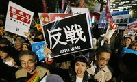 Japan's new security law comes into force