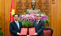 Government and Vietnam Fatherland Front strengthen coordination