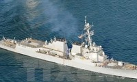 US concerned about China's acts in the East Sea