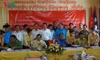 Burial service for Vietnamese fallen soldiers in Laos