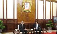 President Tran Dai Quang receives Cuban, EU ambassadors