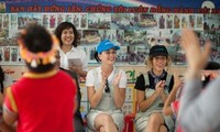 UNICEF Goodwill Ambassador Katy Perry meets children facing immense challenges in Viet Nam