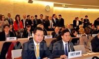 Vietnam raises initiatives to UNHRC's discussions