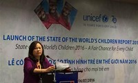 UNICEF's report on the State of the World's Children 2016