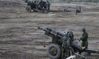 North Korea criticized South Korea's largest ever artillery drill