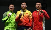 Vietnamese athletes return from Rio Olympics with success