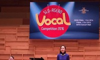 Soprano Khanh Ngoc wins SLO-ASEAN Vocal Competition