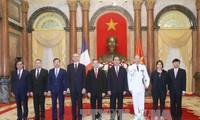 President Tran Dai Quang receives new Ambassadors