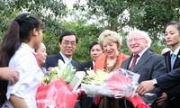 Irish President visits Quang Tri
