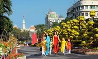 Ho Chi Minh City prepares flower streets for Tet