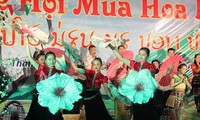 Ban flower festival promotes the northwestern region's tourism