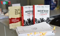 "Veteran journalist Tran Mai Hanh and his novel ""A War Account 1-2-3-4.75"""