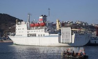 South Korea, US, Japan vow unrelenting fight against North Korea's illicit trade