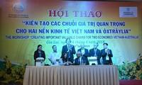Vietnam, Australia enhance economic cooperation