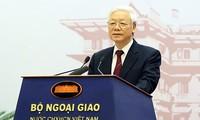 Vietnam consistantly pursues comprehensive, creative diplomacy