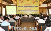 Parliamentary diplomacy contributes to implementing Party guideline, State policy