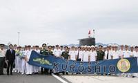 Japanese submarine visits Cam Ranh international port