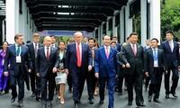 President contributions to raising Vietnam's status