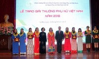 Winners of 2018 Vietnam Women's Awards honoured