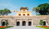 Hanoi Imperial Citadel turned into Italian Square for annual fair