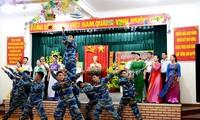 Truong Sa island district enjoys a cozy Tet