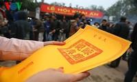 Important ritual at Tran Temple Festival in Nam Dinh