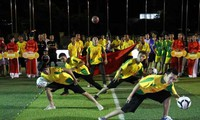 Freestyle football promoted in Vietnam