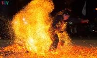 Fire dance of Red Dao in Dien Bien province