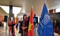 Vietnam silk, brocade exhibition underway in Geneva